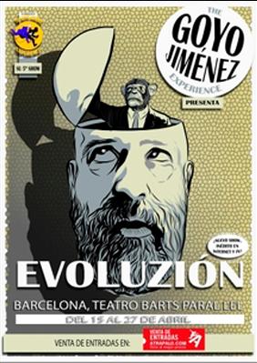 Goyo Jiménez: Evoluzión