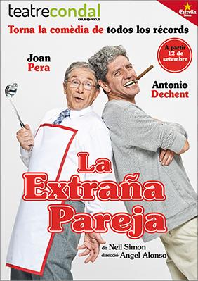 La extraña pareja en Madrid
