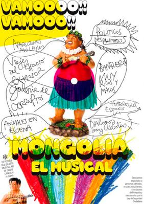 Mongolia, el musical → Teatre Borras