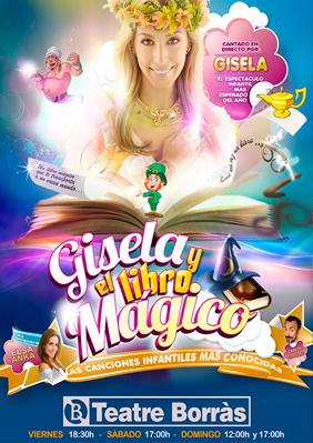 Gisela y el libro mágico → Teatre Borras