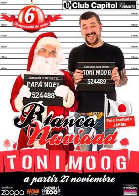 Toni Moog: Blanca Navidad → Club Capitol