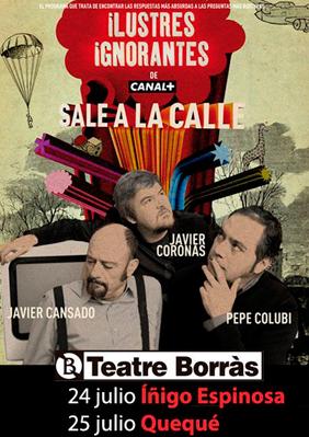 Ilustres ignorantes → Teatre Borras