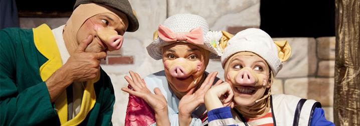 Dreams Teatre: Els tres porquets