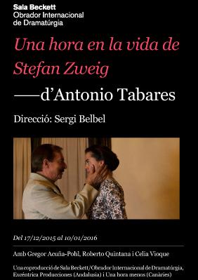 Una hora en la vida de Stefan Zweig - Recomanació teatral - Carles ... 958ee7923db