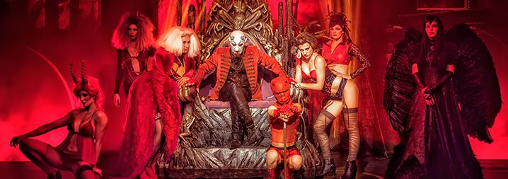 Circo De Los Horrores Cabaret Maldito Teatro Barcelona