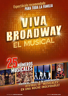 Viva broadway teatro barcelona Atrapalo conciertos madrid