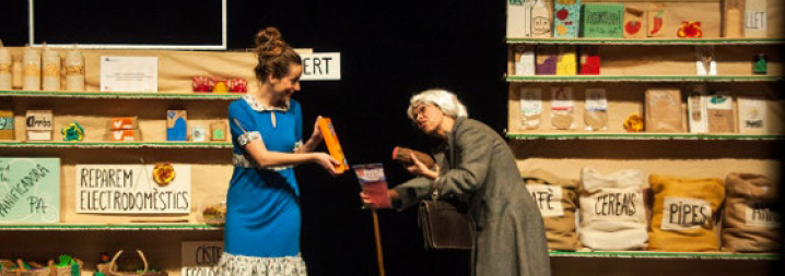 Cia Tanaka Teatre: La botigueta - Teatre Barcelona