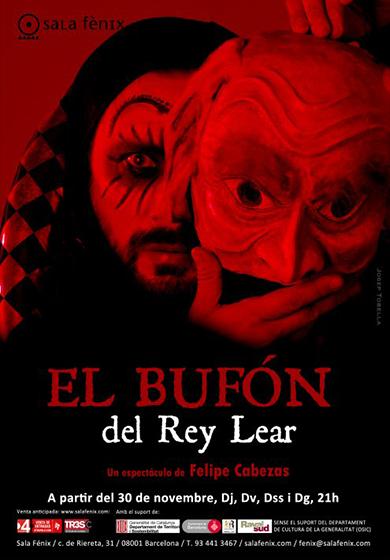 El Bufón del Rey Lear → Sala Fènix