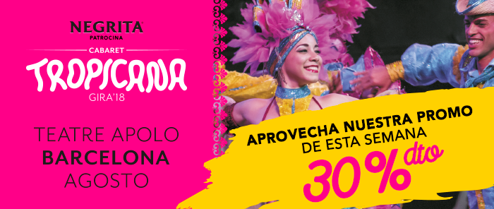 Finalizada: 30% de descuento para 'Cabaret Tropicana' en el Teatro Apolo