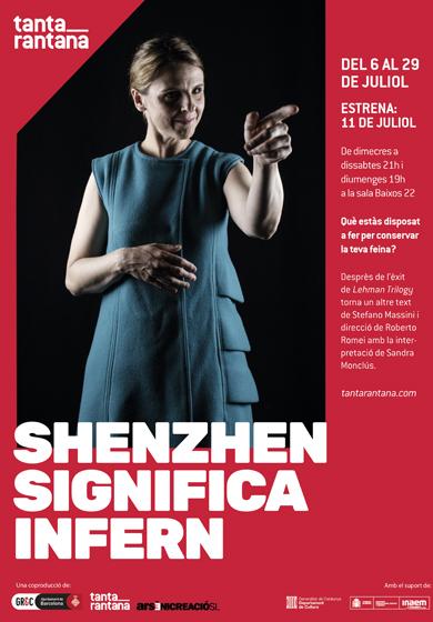 Shenzhen significa infern → Teatre Tantarantana