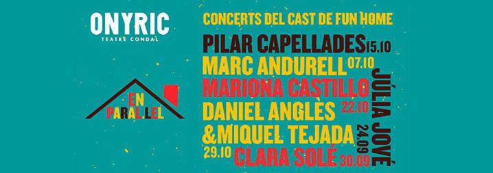 En Paral·lel: Concerts del cast de Fun Home