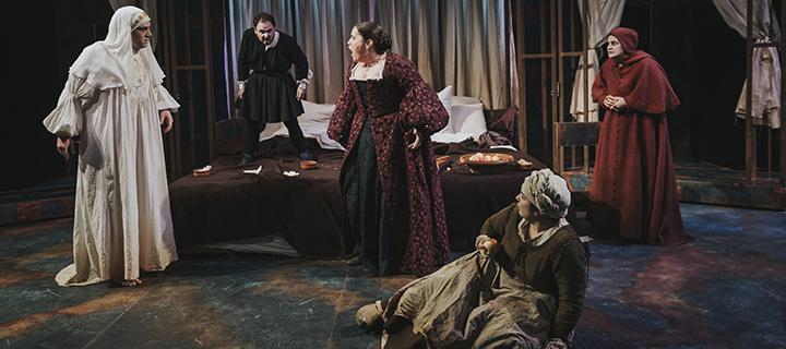 Feísima enfermedad y muy triste muerte de la reina Isabel I