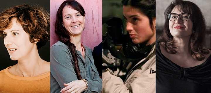 Elena Fortuny, Montse Rodríguez, Raquel Cors i Marilia Samper