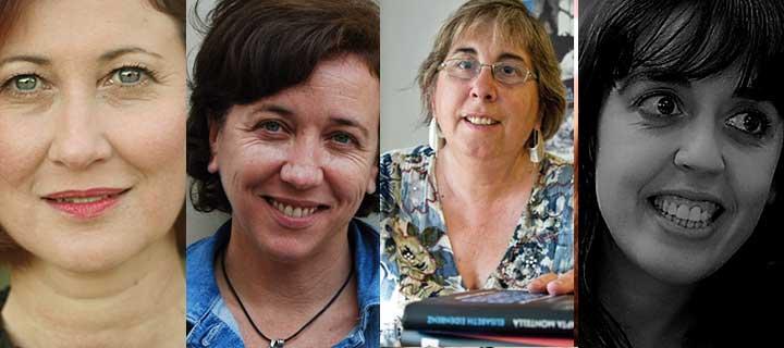 Concha Milla, Anna Maria Ricart, Assumpta Montellà i Clàudia Cedó