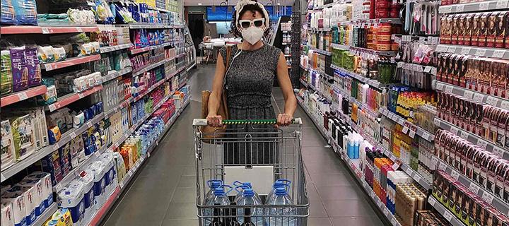 Audioguia per a supermercats en temps de pandèmia